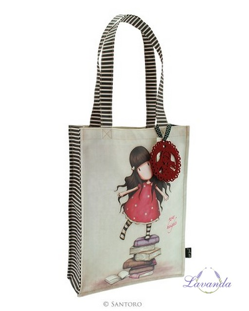 Gorjuss Coated Shopper Bag - New Heights