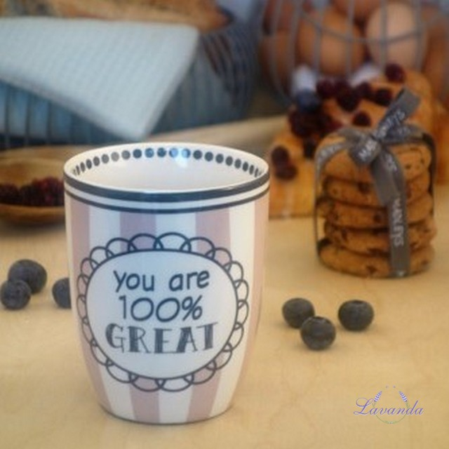 "Porcelánový hrnček "" You're 100 % Great """