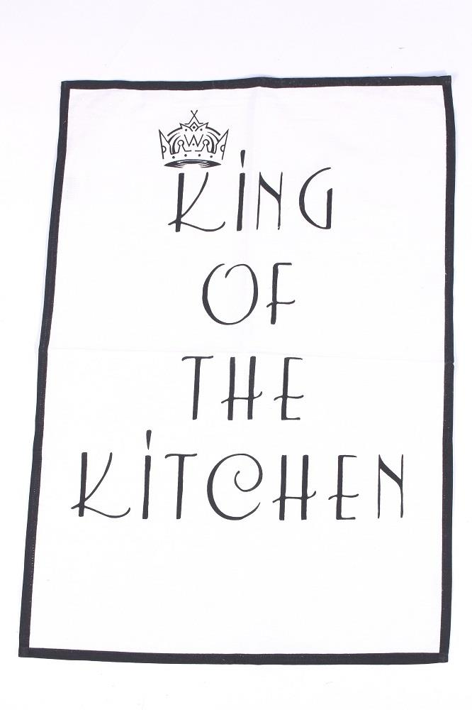 Bavlnená utierka KING OF THE KITCHEN