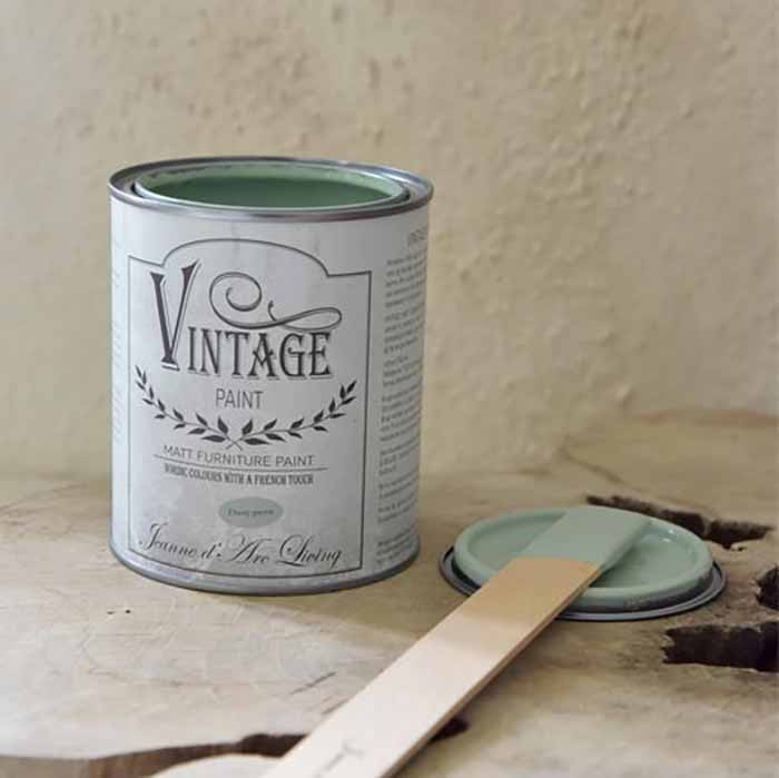 Vintage farba Jeanne d'Arc Living - Dusty green, 100 ml