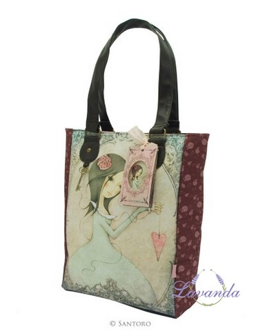 Dámska nákupná taška Mirabelle Glitter Shopper Bag - All For Love