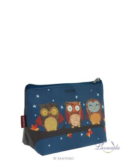 7dd04eafe0 Kozmetická taška SANTORO Owls