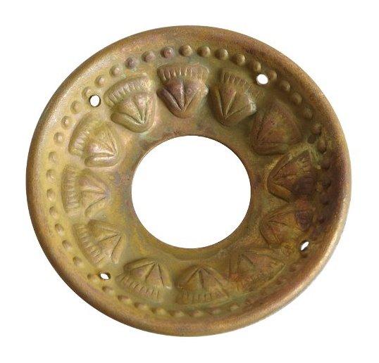a8af6f035 Dekoratívny krúžok na sviečky Rustic brass