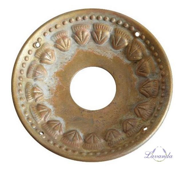f2015abf2 Dekoratívny krúžok na sviečky Rustic brass - veľký