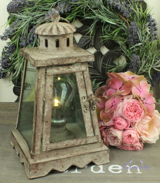 LED lucerna Shabby Chic