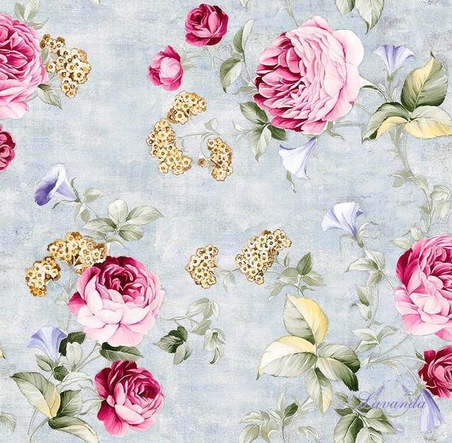 Látka Vintage Rose - šírka 160cm empty 048167697a9
