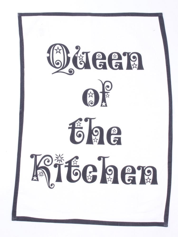 "Bavlnená utierka ""Queen of the Kitchen"""