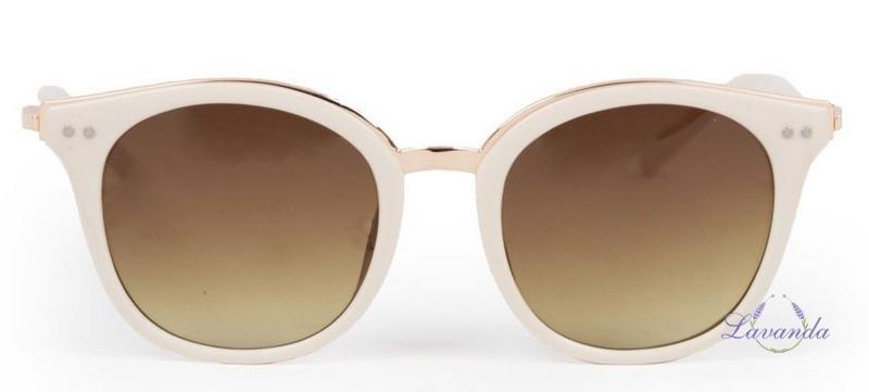 23f0c9cde2ad Vintage dámske slnečné okuliare Powder Adele Cream   Gold