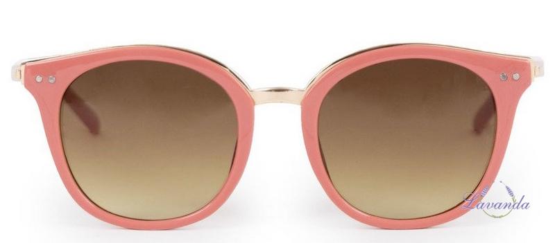 0130c0ec6982 Vintage dámske slnečné okuliare Powder Adele Coral   Gold