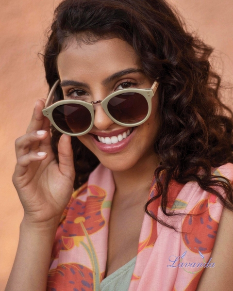 fc39b7e1e Vintage dámske slnečné okuliare Powder Megan - Olive & Stone