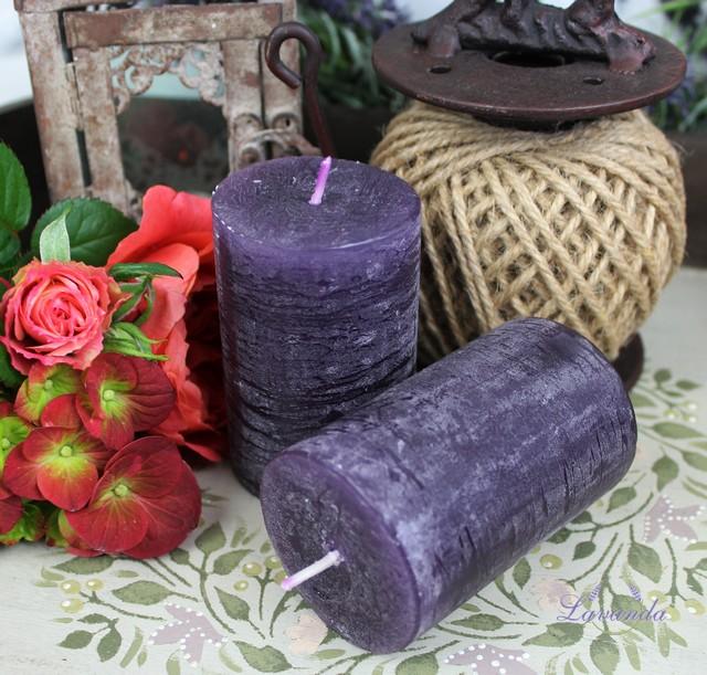 d3b7152fe Sviečky, levanduľové kytice, vrecúška, kvet levandule voňavé dekorácie
